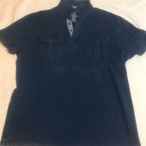Lucky Brand True Indigo Polo golf shirt